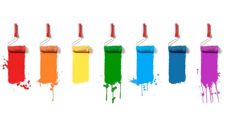 Farben-Roller